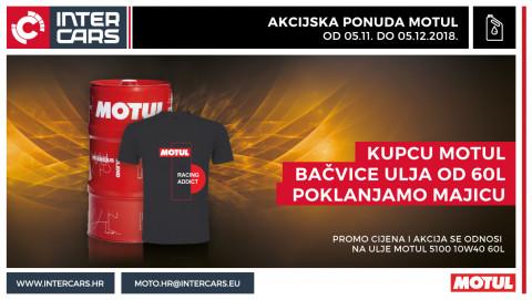 Motul akcijska ponuda - osvoji Motul t-shirt