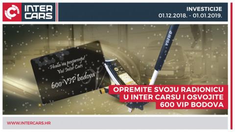 Opremite svoju radionicu u Inter Carsu i osvojite vrijedne bodove!