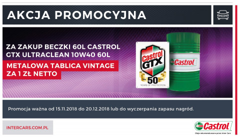 Castrol GTX ULTRACLEAN 10W40 60L_11.2018