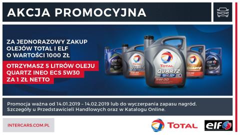 Nowa promocja Inter Cars na oleje Total i Elf