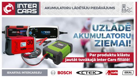 Akumulatoru lādētāju piedāvājums