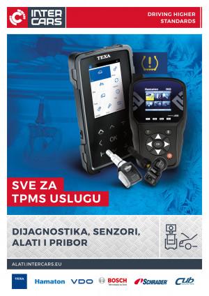 TPMS - dijagnostika, senzori, alati i pribor