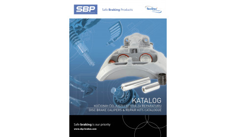 SBP Katalog kočionih čeljusti