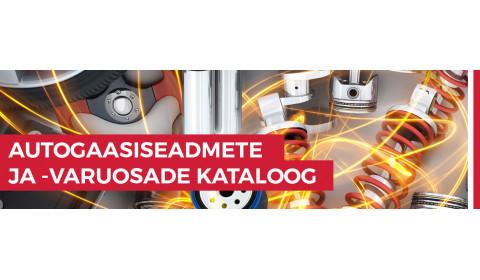 Autogaasiseadmete ja -varuosade kataloog