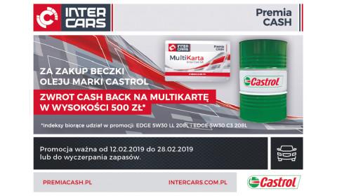 Cash Back za zakup olejów Castrol