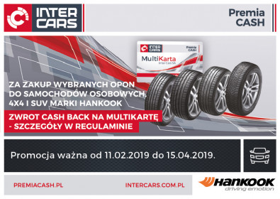 Hankook z Cash Back na lato 2019