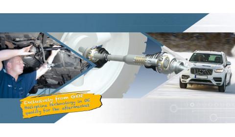 GKN Ballspline technologija: OE kokybės Ballspline technologija atsarginių dalių rinkai