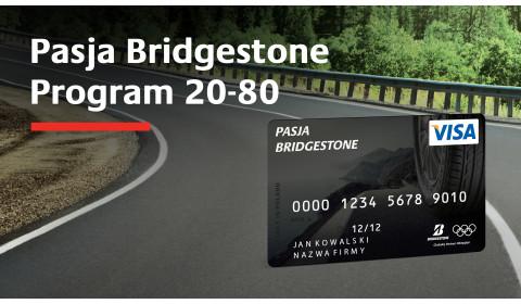 Program Pasja Bridgestone - Program 20-80