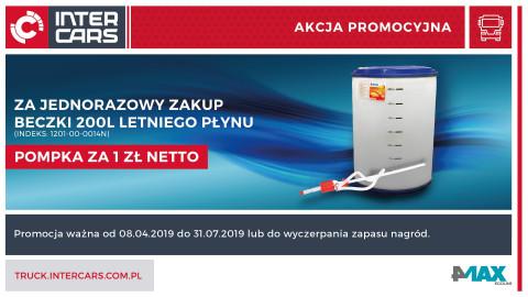 Pompka za zakup letniego płynu od 4MAX