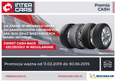 Cash Back na lato 2019 z Michelin