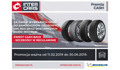 Cash Back na lato 2019 z Michelin