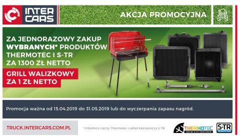 Grill walizkowy za 1 zł za zakupy z rynku agro