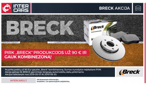 BRECK akcija