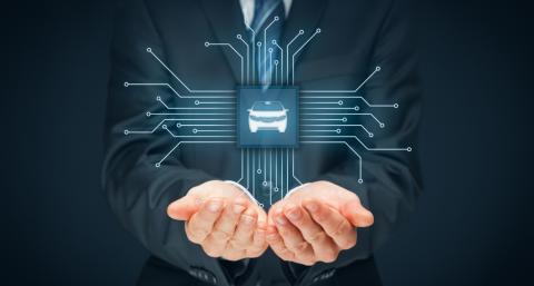 Modernios elektroninės sistemos automobiliuose