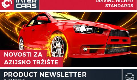 Novosti azijska vozila - Svibanj 2019
