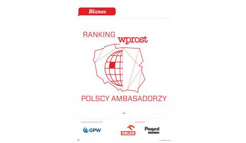 Inter Cars wśród ambasadorów Polski według Wprost