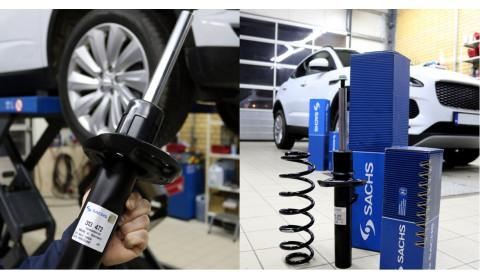 SACHS pakabos spyruoklės lengviesiems automobiliams – optimalus saugumas visose situacijose
