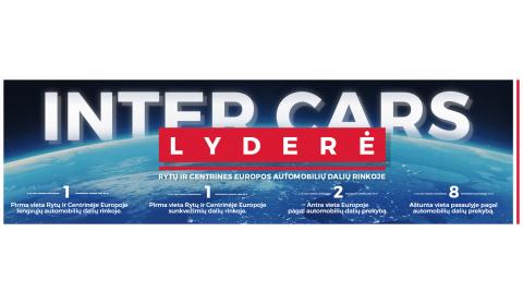 INTER CARS LYDERĖ