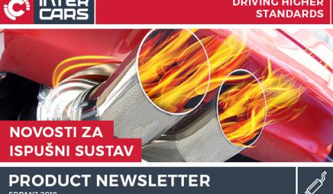 Novosti ispuh - Srpanj 2019