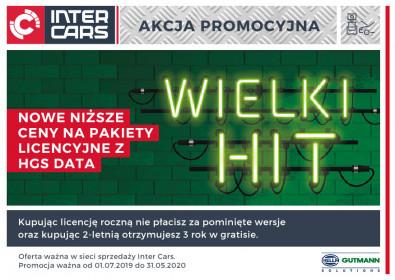 Wielki HIT - Nowe niższe ceny na pakiety licencyjne z HGS Data