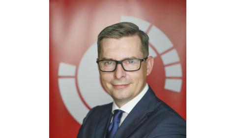 Krzysztof Soszyński u odboru SDCM-a