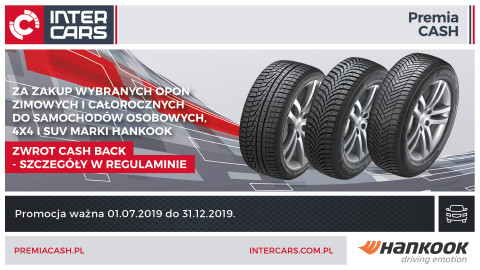 Hankook – Cash Back zima 2019/2020