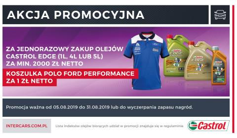 Zdobądź koszulkę polo Ford Performance