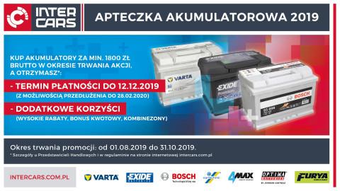 Ruszyła Apteczka akumulatorowa 2019