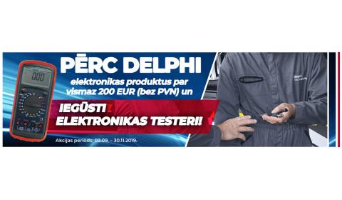 DELPHI ELEKTRONIKAS AKCIJA