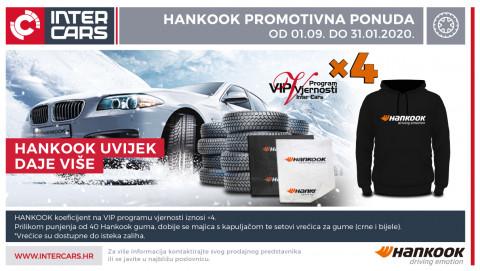 Hankook promotivna ponuda - Hankook uvijek daje više