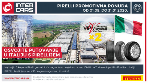 Pirelli promotivna ponuda - osvojite put u Italiju