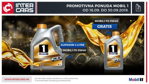 Kupnjom 4L Mobil 1 ulja osvoji 1L ulja gratis
