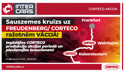 CORTECO akcija noslēgusies!