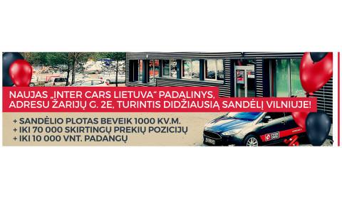 NAUJAS INTER CARS LIETUVA PADALINYS