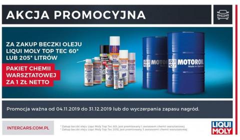 Nowa promocja Liqui Moly w Inter Cars