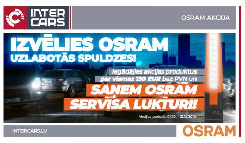OSRAM akcijas 1. mēneša uzvarētāji noteikti!