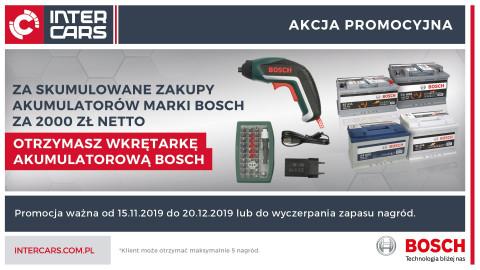 Wkrętarka Bosch do zdobycia w nowej promocji Inter Cars