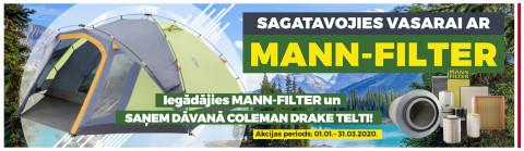 MANN FILTER AKCIJA
