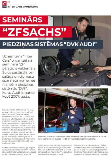 SACHS / Piedziņas sistēmas