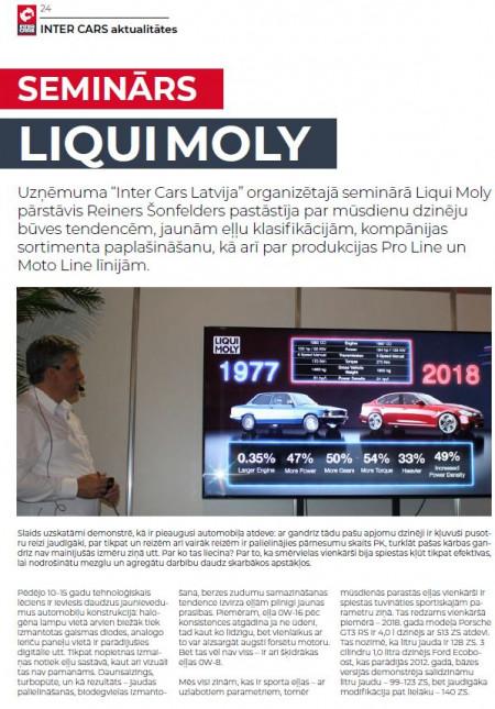 LIQUI MOLY apmācības 2019