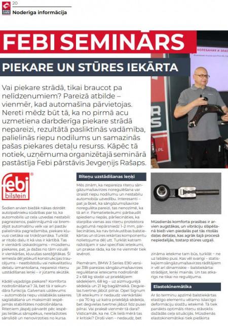 FEBI / Piekare un stūres iekārta