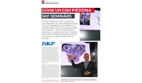 SKF / Sūkņi un GSM piedziņa