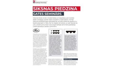 GATES / Siksnas piedziņa