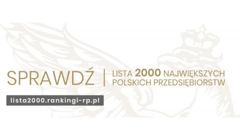 Inter Cars w rankingu 2000 największych polskich przedsiębiorstw