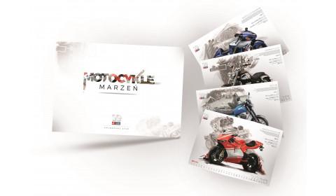 Kalendarz Motocykle Marzeń 2020 z okazji 30 lat Inter Cars SA