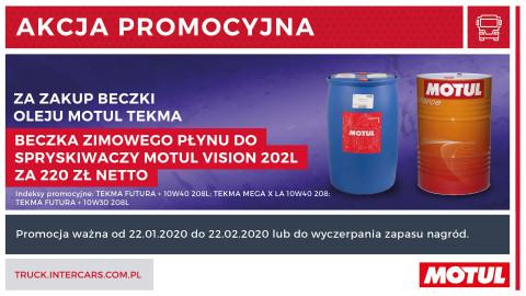 Promocja Motul dla rynku ciężarowego