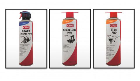 Dažniausiai autoservisuose naudojami CRC produktai