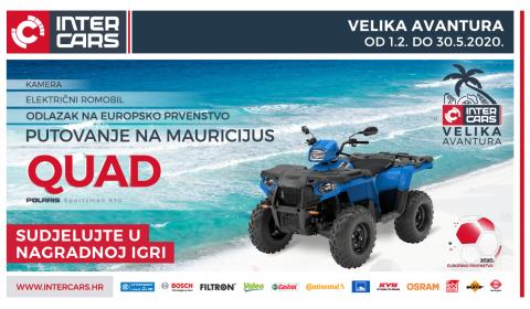 Velika avantura - osvojite quad i putovanje na Mauricijus