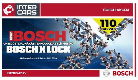 BOSCH X LOCK akcija ir noslēgusies!