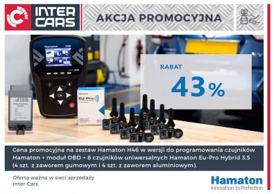 Zestaw TPMS Hamaton w Super Cenie